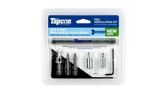 Blue Climaseal Tapcon Concrete Fastener | Tapcon